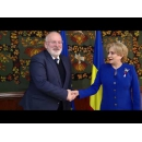 Prime Minister Viorica Dăncilă meets with the First Vice –President of the European Commission Frans Timmermans