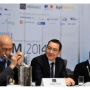 PM Victor Ponta has attended the France-South – Eastern Europe Business Forum, organized by the French Embassy in Romania