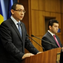 Statements by PM Victor Ponta on the Standard & Poor's decision to upgrade Romania's rating, and on the meeting with the NATO Secretary General