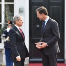 Vizita oficială a premierului Dacian Cioloș la Haga