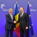 Prime Minister Dacian Cioloş discussed with Chancellor Angela Merkel about Romania