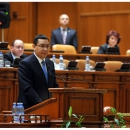 Prime Minister Victor Ponta attended the debate on the Diaspora voting, in the plenum of the Chamber of Deputies