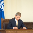 Ceremonia de depunere a jurământului de învestitură în funcţie a membrilor Guvernului României