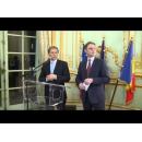 Declarații susținute de premierul Dacian Cioloș la Ambasada României de la Paris