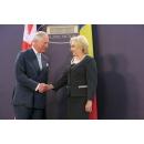 Prime Minister Viorica Dancila met with HRH Prince Charles