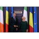 Întrevederea prim-ministrului României, Viorica Dăncilă, cu omologul său din Republica Irlanda, Leo Varadkar
