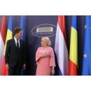 Entrevue du Premier ministre Viorica Dăncilă avec le Premier ministre du Royaume des Pays-Bas, Mark Rutte