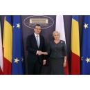 Prime Minister Viorica Dancila met with Prime Minister of the Polish Republic Mateusz Morawiecki