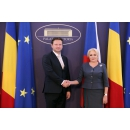 Prime Minister Viorica Dancila met with the Speaker of the Chamber of Deputies of the Parliament of the Czech Republic(...)