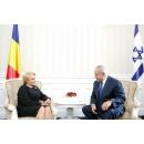 Prime Minister Viorica Dăncilă met with the Prime Minister of the State of Israel, Benjamin Netanyahu in Varna