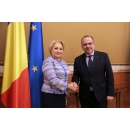 Prime Minister Viorica Dăncilă met with the President of the European Economic and Social Committee Luca Jahier