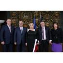 Prime Minister Viorica Dăncilă welcomed the President of the European Court of Auditors Klaus-Heiner Lehne