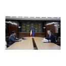 Întrevederea premierului Sorin Grindeanu cu ambasadorul Statului Kuweit în România, Talal Mansour Alhajeri