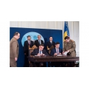Prime Minister Mihai Tudose attended the contract signing between the Ministry of National Defence and General Dynamics
