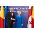 Primirea oficială, de către prim-ministrul Viorica Dăncilă, a prim-ministrului Georgiei, Mamuka Bakhtadze