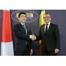Vice Prime Minister Paul Stănescu met with the visiting Japanese official and economic delegation led by Kotaro(...)
