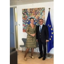 Vice Prime Minister Viorel Stefan had talks with the European Commissioner for Competition Margrethe Vestager about the(...)