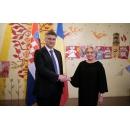 Prime Minister Viorica Dancila hosted dinner in honor of the Prime Minister of Croatia Andrej Plenković