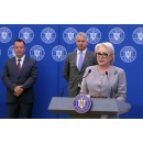 """Prime Minister Viorica Dancila attended the signing ceremony of the Contract for funding the project: """"Facilitating(...)"""