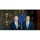 Întâlnirea premierului Sorin Grindeanu cu ambasadorul Italiei