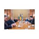 Entrevue du Premier ministre Viorica Dăncilă avec les ministres des Affaires Etrangères bulgare et grec, en(...)