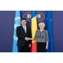 Prime Minister Viorica Dancila met with the President of the United Nations General Assembly Miroslav Lajčák