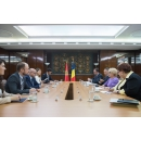 Prime Minister Viorica Dancila received the Minister of Foreign Affairs of Montenegro Srdjan Darmanović