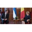 Prime Minister Viorica Dancila met with the President of the Republic of Serbia Aleksandar Vučić