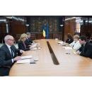 L'accueil de l`ambassadeur du Royaume des Pays-Bas en Roumanie, Mme Stella Ronner-Grubačić, par le Premier ministre(...)