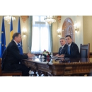Prime Minister and the Public Finance Minister met with the President of Romania