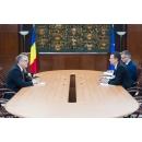 Întrevederea premierului Sorin Grindeanu cu ambasadorul Confederației Elvețiene