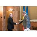 Întâlnirea premierului Mihai Tudose cu ambasadorul Marii Britanii, Paul Brummell