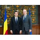 Întâlnirea premierului Sorin Grindeanu cu ambasadorul Germaniei