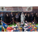 Prime Minister Viorica Dancila attended the service for the reconsecration of the Church of the Monastery Dealu