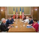 Primirea de către prim-ministrul Viorica Dăncilă a delegației Congresului SUA condusă de Devin Nunes,(...)