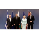Prime Minister Viorica Dancila attended the high-level quadrilateral meeting of Romania, Bulgaria, Serbia and Greece,(...)