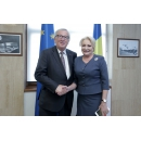 Prime Minister Viorica Dăncilă has met with the President of the European Commission, Mr. Jean –Claude Juncker