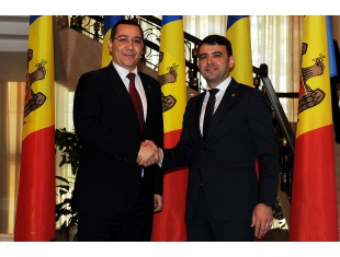 Prime Minister Victor Ponta met with the counterpart in the Republic of Moldova, Chiril Gaburici