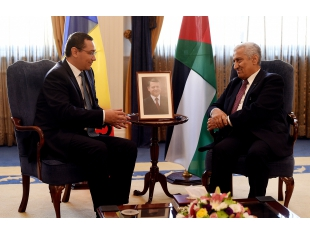 Official visit by Prime Minister of Romania, Mr. Victor Ponta to the Hashemite Kingdom of Jordan
