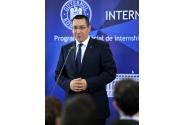 Lansarea programului de internship al Guvernului României, ediţia 2014