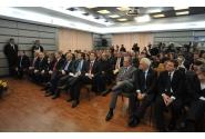 """Primul-ministru Victor Ponta la evenimentul """"Transportul gazelor naturale în România – Un secol de existenta"""", organizat de SNTGN Transgaz la sediul companiei din Mediaș"""