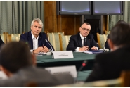 Întâlnirea primului-ministru interimar Sorin Cîmpeanu cu reprezentanții Coaliției Naționale pentru Modernizarea României