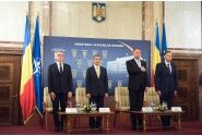 Ceremonia de preluare a mandatului de ministru al afacerilor interne a lui Petre Tobă