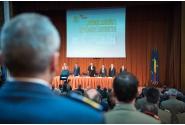 Ceremonia de preluare a mandatului de ministru al apărării naționale a lui Mihnea Motoc