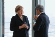 Întrevederea premierului Dacian Cioloș cu Angela Merkel, Cancelarul federal al Germaniei