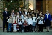 Festivitatea de premiere a echipei naționale de handbal feminin a României