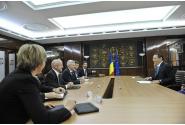 Întrevederea premierului Victor Ponta, la Palatul Victoria, cu reprezentanții Exxon Mobil și OMV Petrom