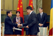 Premierul Victor Ponta, la semnarea Acordului între Complexul Energetic Oltenia și China Huadian Engineering privind înființarea companiei cu capital mixt de tip IPP pentru realizarea unui grup energetic de 500 MW la Rovinari