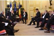 Întrevedere cu Gérard Larcher, președintele Senatului Republicii Franceze