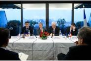 Întâlnire cu șefi de întreprinderi franceze